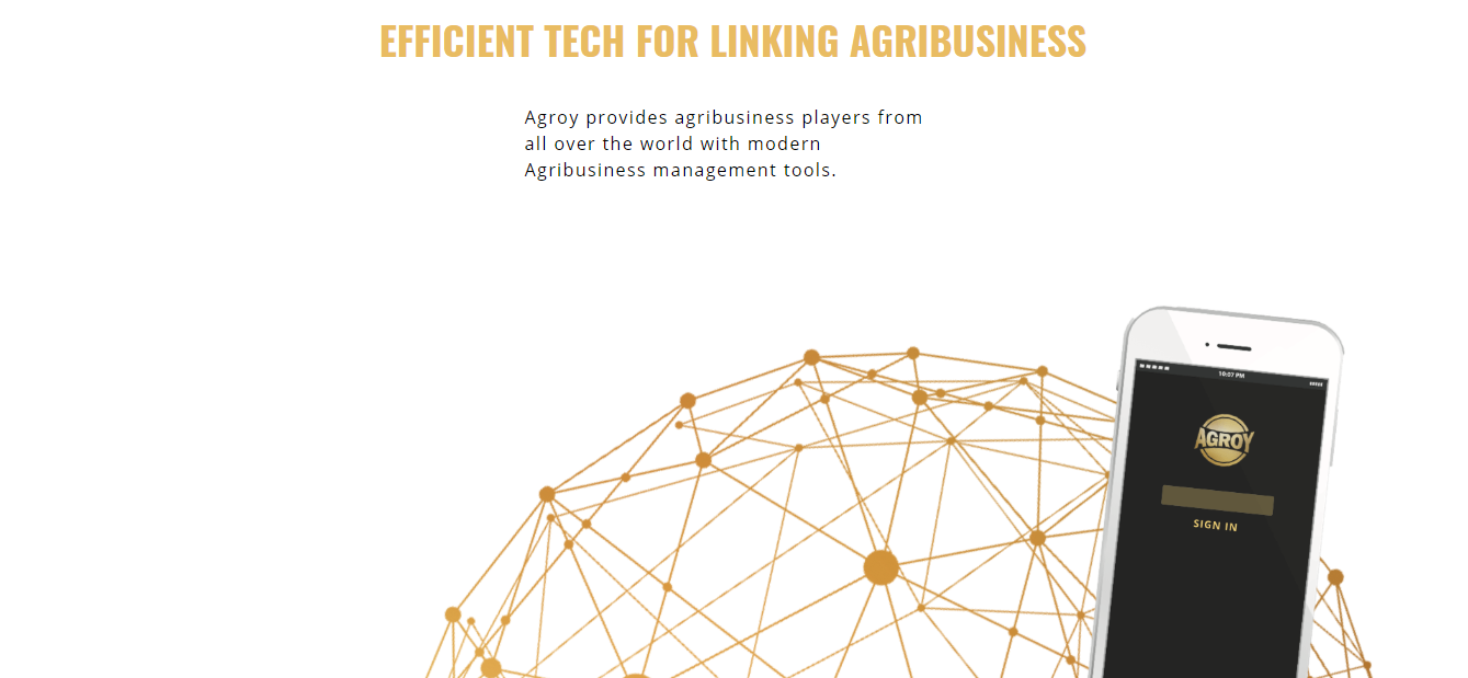 Agroy Oy - Mobile app for agri-businesses